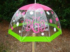 Totes umbrella @ walmart $15 Cute idea for vinyl