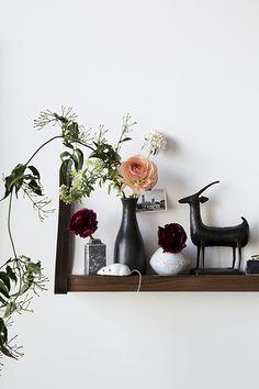 ladder, interior, franzen photographi, jordan, black flowers, display, nicol franzen, light, floral