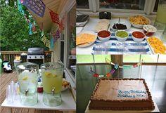 Cinco de Mayo Birthday Party!