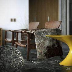 Modern Winter Interior