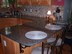 Autumn Brown Granite Kitchen Countertop by Supreme Surface, via Flickr
