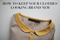 Take a look at these laundry tips to keep your #clothes looking brand new!