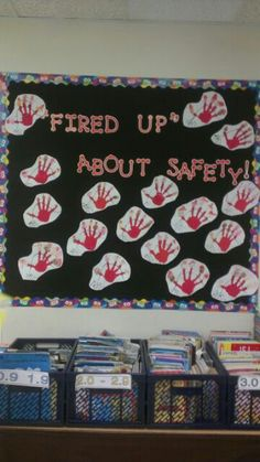 Great art activity for Fire Safety week!