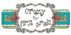 Crazy for First Grade blog