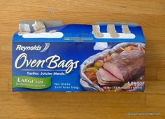 Reynolds Oven Bags make excellent vapor barrier socks for very cold winter hiking