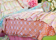 Addison's Wonderland bedding.