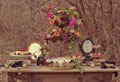 Elegant-Purple-Baroque-Dessert-Table