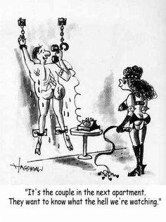 Femdom Husband Wife Cartoon