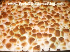 Everyone loves s'mores but not everyone loves building a campfire in the backyard. Here's an easy recipe you can make in the oven and get that gooey s'mores experience whenever you want it. gooey smore, toast smore, smore bar