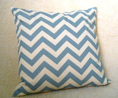 chevron accent pillow