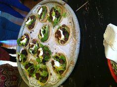Sopes de Picadillo of Lamb from: http://unasenoritagourmet.wordpress.com/