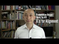 Presentation Design Quick Tip #3   A is for Alignment