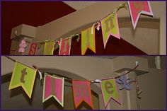 Banner/Pennant Tutorial and Templates