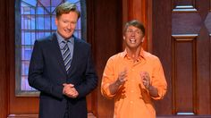 Friend Of The Show Jack McBrayer Stops By To Make An April Fool Out Of Conan