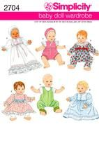 Free Copy of Pattern - Simplicity 2704