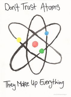 The BEST science pun I've seen in a long time!