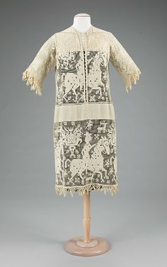 Lace dress, c.1920, worn by Rita de Acosta Lydig. Via the @Metropolitan Museum of Art