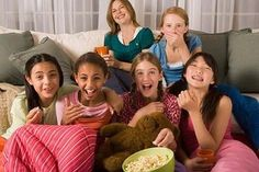 Sleepover Party Ideas for Girls