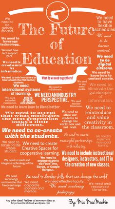 The Future of Education #edtech #eLearning