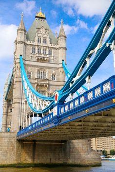 Tower Bridge, London, England the bridge