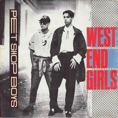 Pet Shop Boys - West End Girls (vinyl sleeve)