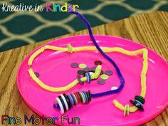 Fine Motor Fun Skills Centers!