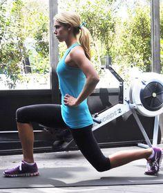 Calorie-Blasting Rowing Machine Workout