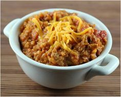 This recipe for Slow Cooker Chili Casserole combines the greatest elements form slow cooker chili recipes into this delicious casserole form. This slow cooker casserole includes tried-and-true chili ingredients with sausage and rice.