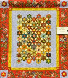 D.303 Happy Hexagons, Wendy Caton Reed