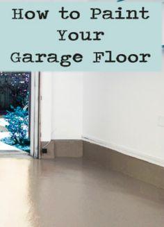 garagefloor2 5 Weekend DIY Projects