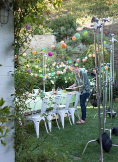 A behind-the-scenes peek at how the party shots came together for the Oh Joy for Target collection.