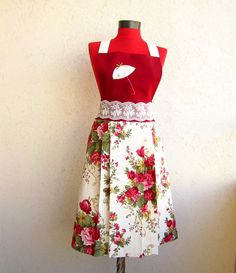Mothers Day Gifts 40 discount full apron set Used to by rengarenk, $23.00
