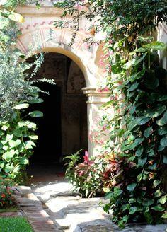 arch entri, oasi, garden