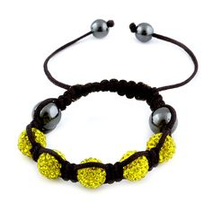 Liquidation Channel | Yellow Austrian Crystal #Tranquility Bracelet