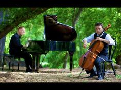 Christina Perri - A Thousand Years (Piano/Cello Cover) - Would be beautiful to replace the traditional wedding march.  -- Well crap, how do i get that piano into the middle of the woods? BC this WILL be happening at my wedding.