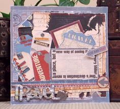 Bo Bunny: Sept Blog Class- Written/photo tutorial for this cute Detour layout!