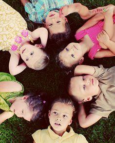 Super cute photo idea for kids