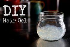 DIY Hair Gel Recipe