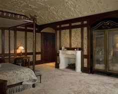 Bedroom Louisiana Traditional Design, Pictures, Remodel, Decor and Ideas - page 6 - love the ceiling