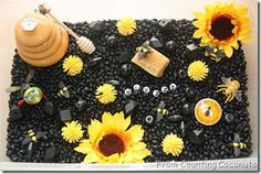 great sensory table idea for spring