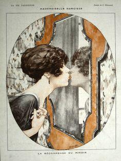 Mademoiselle Narcisse, by Herouard  La Vie Parisienne