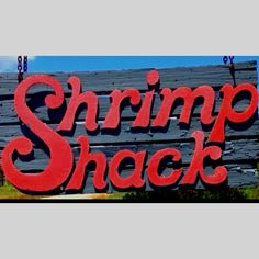 While you're visiting Fripp Island don't forget to stop at the Shrimp Shack! Beaufort, SC
