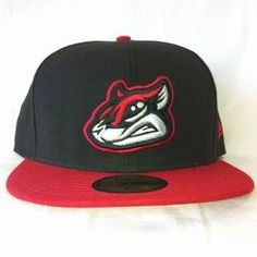 New Era Nutzy Face Cap - Black & Red