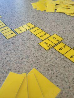 Equivalent Fractions Dominoes