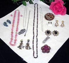 18pc Vintage Jewelry Lot JULIANA Regency by UBlinkItsGone on Etsy, $153.99