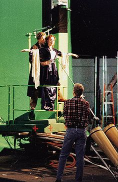 Behind the scenes on one of the most iconic scenes ever