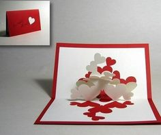 Simple Handmade Valentines day cards
