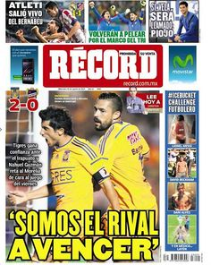 Monterrey 20 de agosto del 2014  - RÉCORD