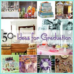 Graduation Centerpiece Ideas | The Cottage Market: 50+ Ideas for Graduation
