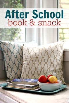 Reconnect with your kids after school with a book and a snack! Read more in our #RaiseaReader blog. Click for more.